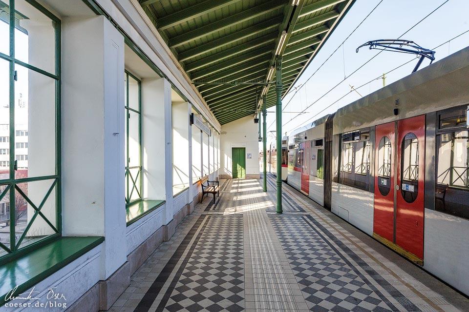 Station Währinger Straße von Otto Wagner in Wien