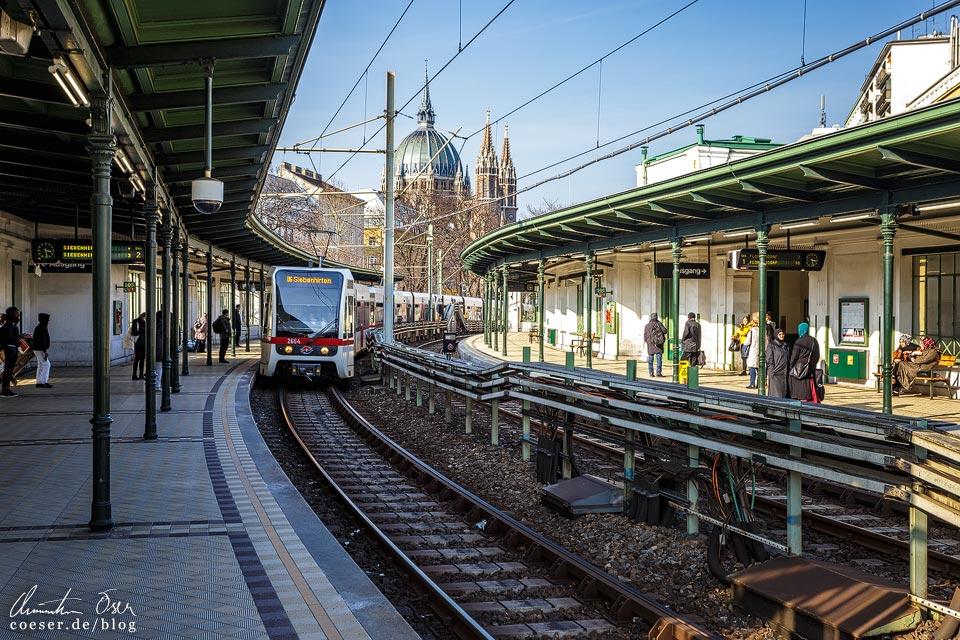 Station Gumpendorfer Straße von Otto Wagner in Wien