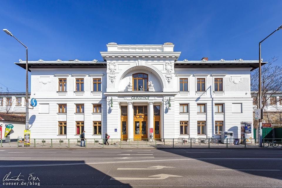 Station Gersthof von Otto Wagner in Wien