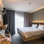 Zimmer im Hotel Moxy Lausanne City
