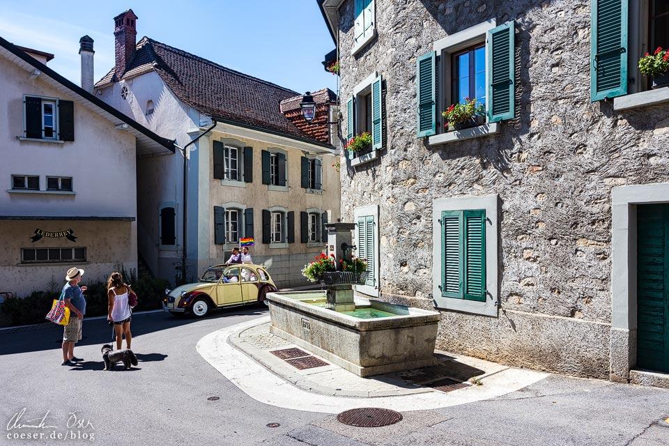 Grandvaux and den UNESCO-Weinterrassen von Lavaux
