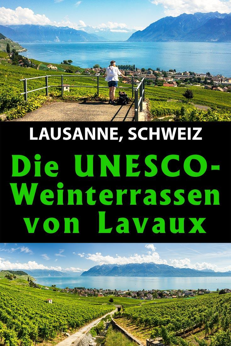 Lavaux (Lausanne), Schweiz: Reisebericht mit Erfahrungen zum Weinwandern von Grandvaux nach Lutry, den besten Fotospots und allgemeinen Tipps.