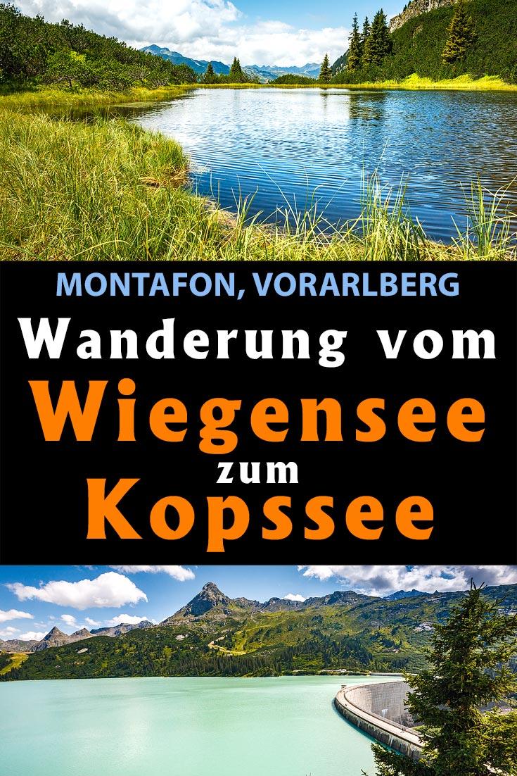 Montafon: Erfahrungsbericht zur Wanderung vom Wiegensee zum Kopssee mit Infos zur Anreise, den besten Fotospots und allgemeinen Tipps.