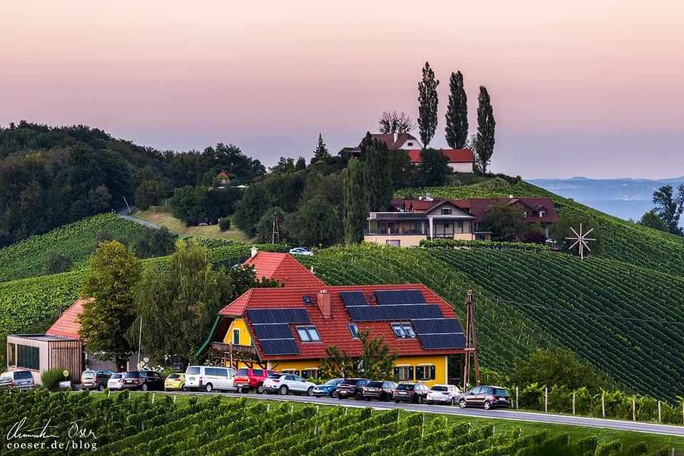 Weingut Kögl in Eckberg/Gamlitz in der Südsteiermark