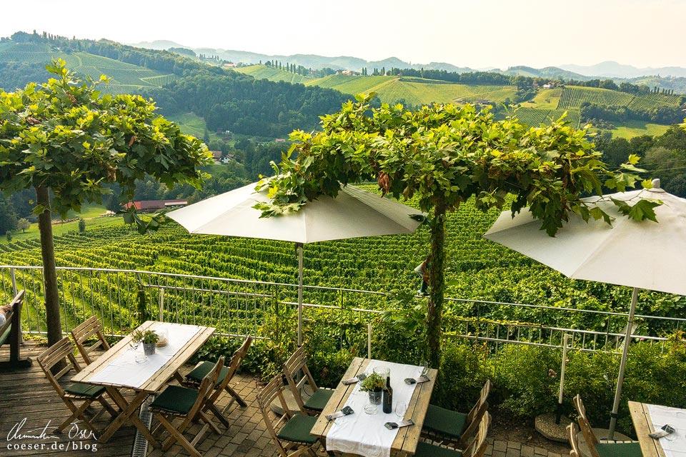 Weingut Walter Skoff in Eckberg/Gamlitz in der Südsteiermark