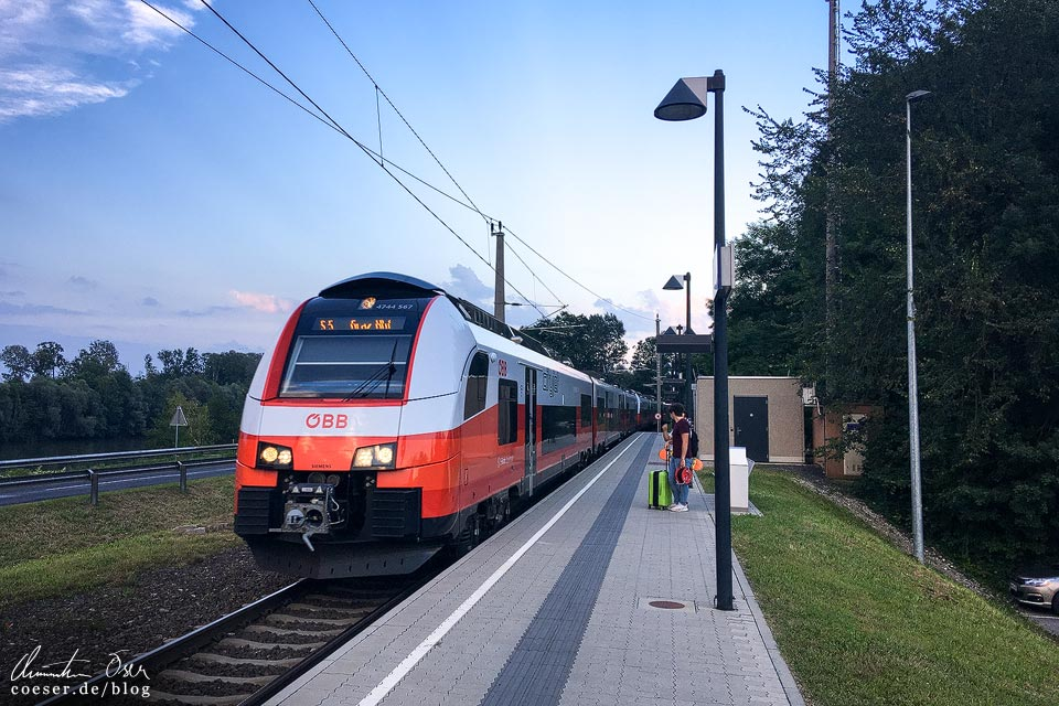 S-Bahn S5 im Bahnhof Ehrenhausen