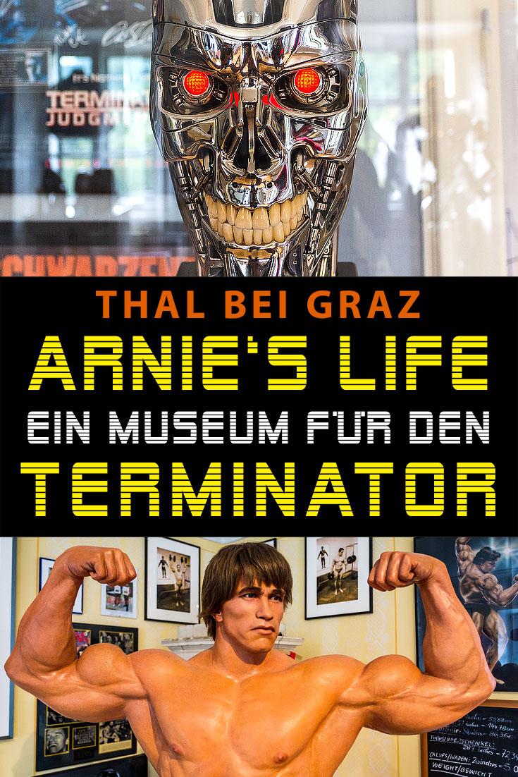 Arnie's Life: Erfahrungsbericht zum Arnold Schwarzenegger Museum in Thal bei Graz mit den besten Fotospots sowie allgemeinen Tipps.