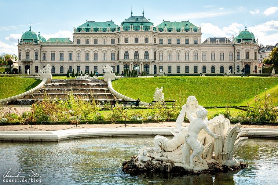 Fotospots Wien: Schloss Belvedere