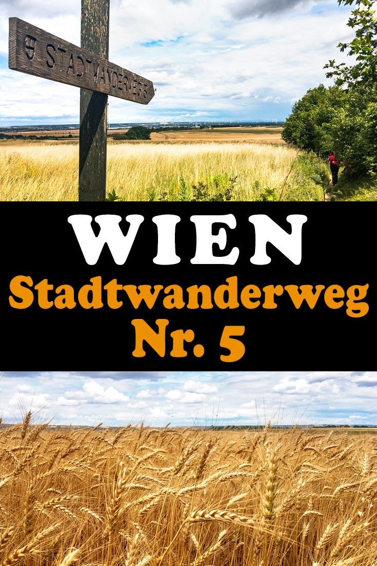 Wien: Erfahrungsbericht zum Stadtwanderweg 5 von Stammersdorf auf den Bisamberg mit Tipps zum Wegverlauf und Einkehrmöglichkeiten.