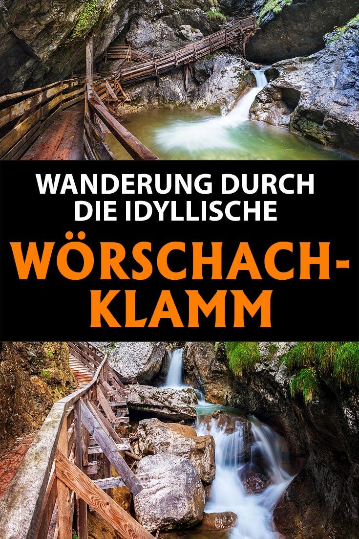 Wörschachklamm, Steiermark: Erfahrungsbericht über eine Wanderung durch die Klamm mit den besten Fotospots sowie allgemeinen Tipps.