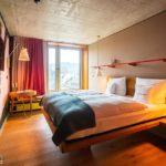 Zimmerkategorie Large im 25hours Hotel Zürich Langstrasse