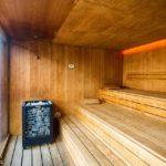 Sauna im 25hours Hotel Zürich Langstrasse