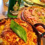 Lasagne und Pizza im Restaurant Ribelli im 25hours Hotel Zürich West