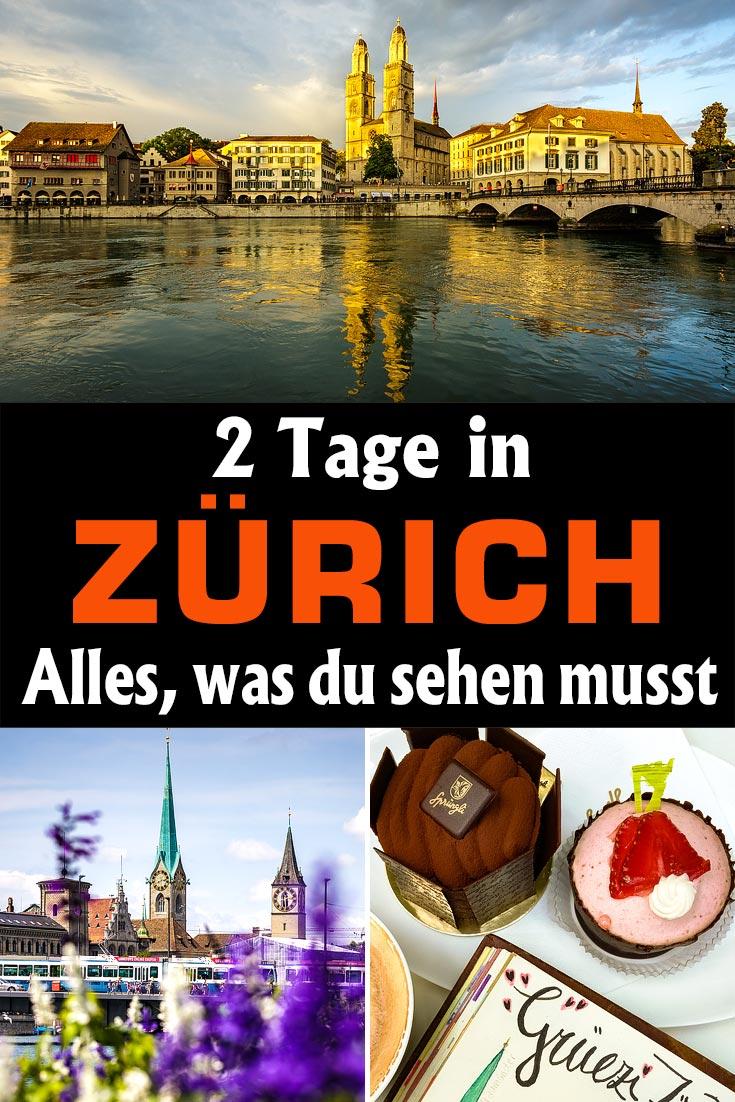 Zürich: Reisebericht und Tipps, wie du in 48 Stunden die wichtigsten Sehenswürdigkeiten, die besten Fotospots und gutes Essen findest.