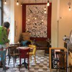 Innenansicht des Boréal Coffee in Genf
