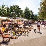 Flohmarkt auf dem Plaine de Plainpalais