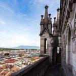 Aussicht auf Genf vom Turm der Kathedrale St. Peter aus gesehen