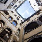 Innenhof des Maison Tavel in Genf