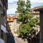 Blick aus dem Fenster vom Maison Tavel in Genf
