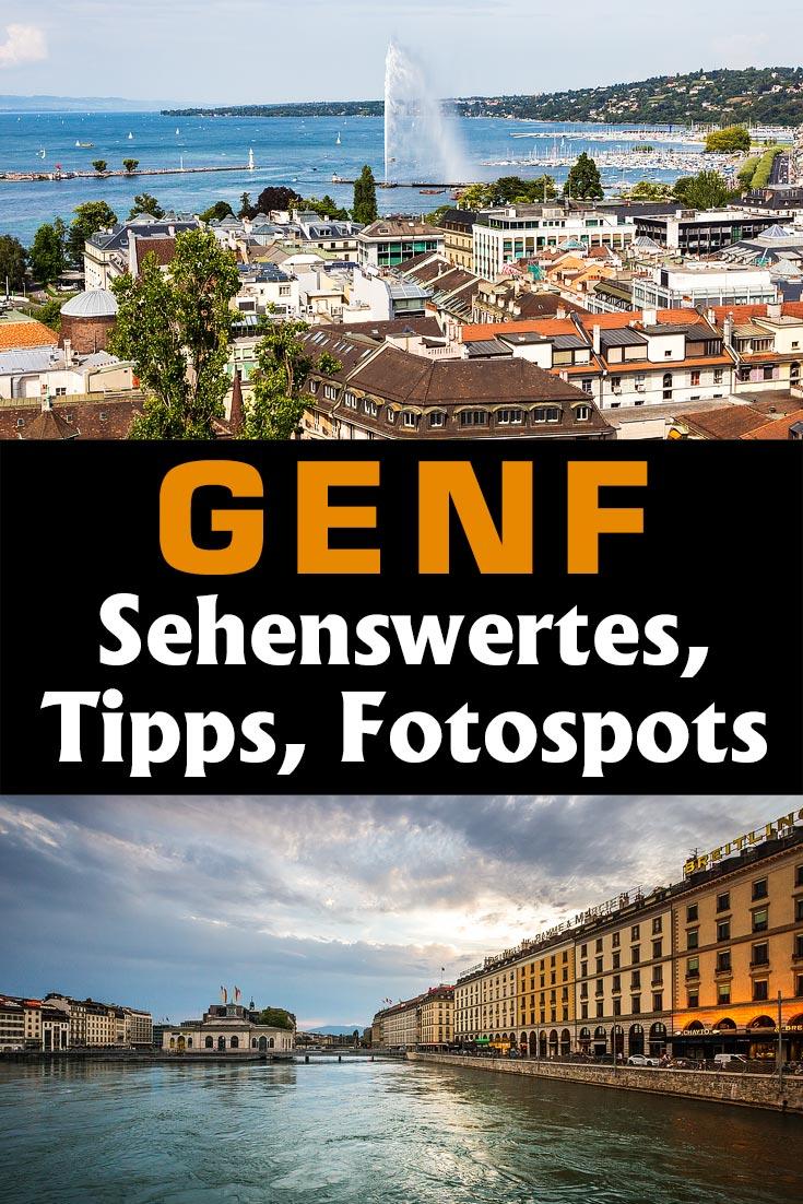 Genf, Schweiz: Reisebericht mit Erfahrungen zu Sehenswürdigkeiten, den besten Fotospots sowie allgemeinen Hinweisen und Restauranttipps.