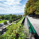 Die Promenade de la Treille in Genf