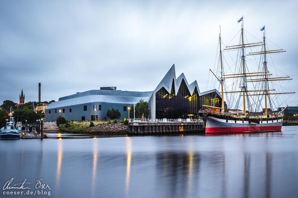 Riverside Museum in Glasgow von Zaha Hadid