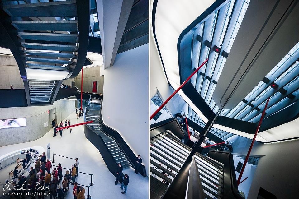 Museum MAXXI von Zaha Hadid in Rom