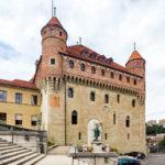 Mittelalterliches Schloss Château Saint-Maire, Sitz der Regierung des Kantons Waadt