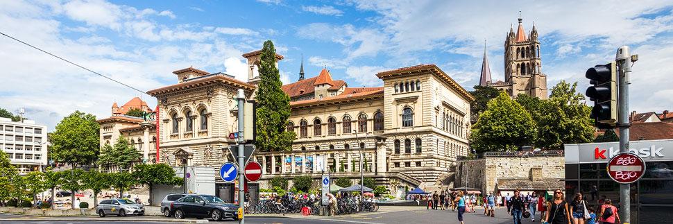 Das Palais de Rumine in Lausanne