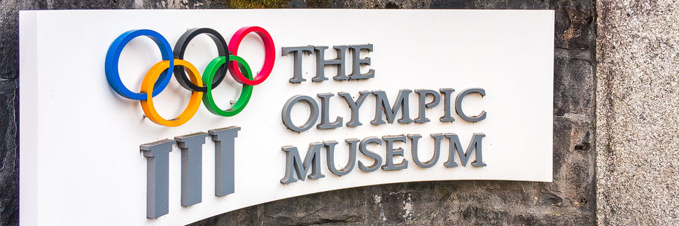 Olympisches Museum in Lausanne
