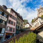 Die Treppe Escaliers du Marché in Lausanne