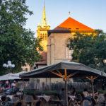 Gastgarten des Café Romand in Lausanne