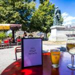 Gastgarten der Bar The Great Escape in Lausanne