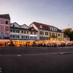 Abendstimmung im Hafenviertel Ouchy