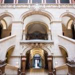 Innenansicht des Palais de Rumine in Lausanne