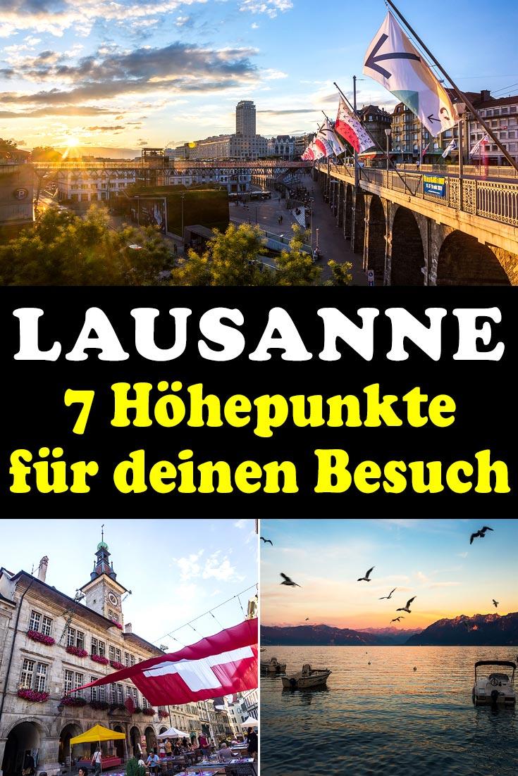 Lausanne: Reisebericht mit Erfahrungen zu Sehenswürdigkeiten, den besten Fotospots sowie allgemeinen Tipps und Restaurantempfehlungen.