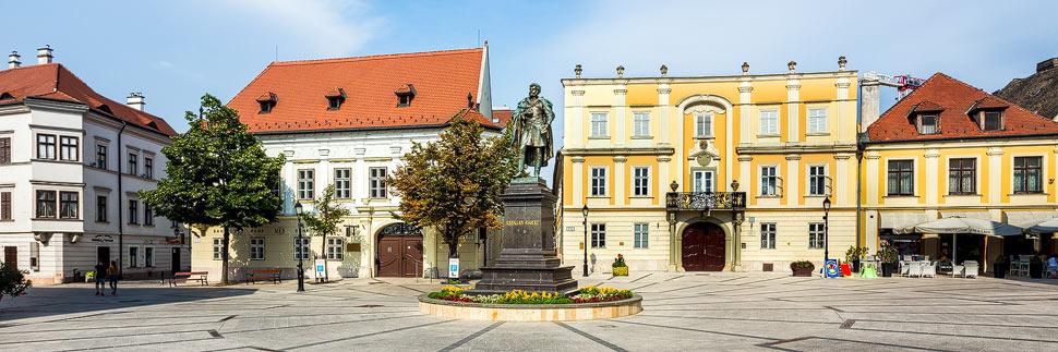 Altabakhaus und Otthaus in Györ