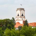 Aussichtsturm Püspökvár in der Bischofsburg in Györ