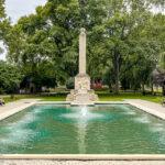 Brunnen zum Gedenken an die Helden des Ersten Weltkriegs
