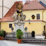 Bundeslade-Denkmal in Györ
