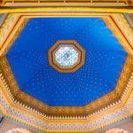 Innenansicht der Großen Synagoge in Györ