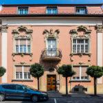 Außenansicht des Hotel Nest – Urban Rooms in Györ
