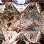 Deckenfresko in der Jesuitenkirche bzw. Ignatiuskirche in Györ