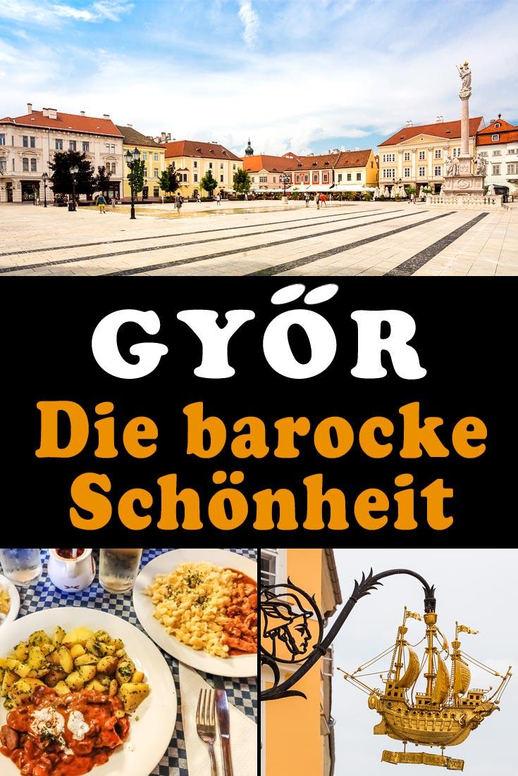 Györ, Ungarn: Reisebericht mit Erfahrungen zu Sehenswürdigkeiten, den besten Fotospots sowie allgemeinen Tipps und Restaurantempfehlungen.