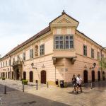 Das Palais Esterházy in Györ