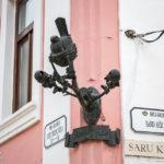 Zunftzeichen Drosselnest von Künstler Schima Bandi in Györ