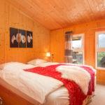 Doppelzimmer im Chalet Sternwarte im Feriendorf Hohentauern