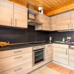 Küche im Chalet Sternwarte im Feriendorf Hohentauern